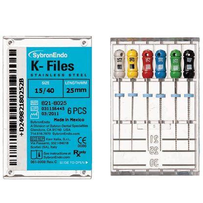 Picture of K FILES (SybronEndo) 21mm 15-40no