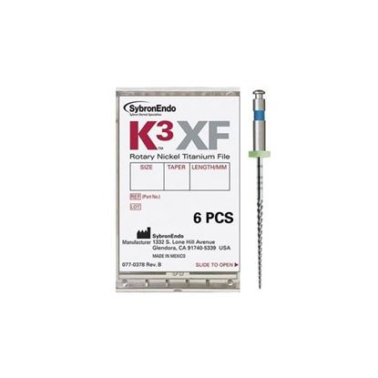 Picture of K3 XF FILE. .45/.06 25MM (Pack Of 6 Files)