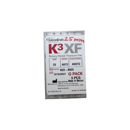 Picture of K3 XF FILE G PACK 25MM