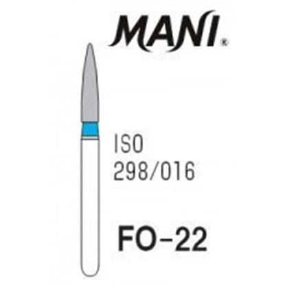 Picture of Mani Diamond Bur - FO-22