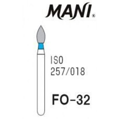 Picture of Mani Diamond Bur - FO-32