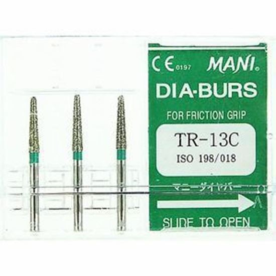 Picture of Mani Diamond Bur - TR-13C (1-piece)
