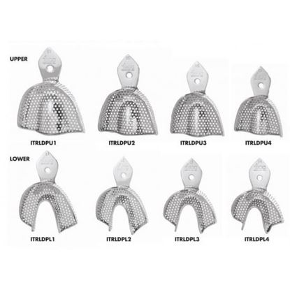 Picture of Impression Trays Dentulous Perforated