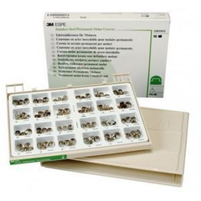Picture of Primary Molar Crown Kit - ND 96 SS