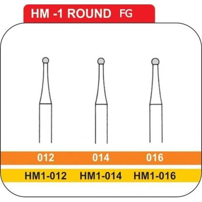 Picture of ROUND CARBIDE BURS