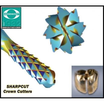 Picture of SHARP CUT BURS - CROWN CUTTERS