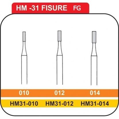 Picture of STRAIGHT FISSURE CARBIDE BURS - FG
