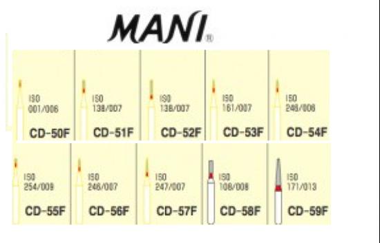 Picture of Mani Diamond Bur - CD-52F