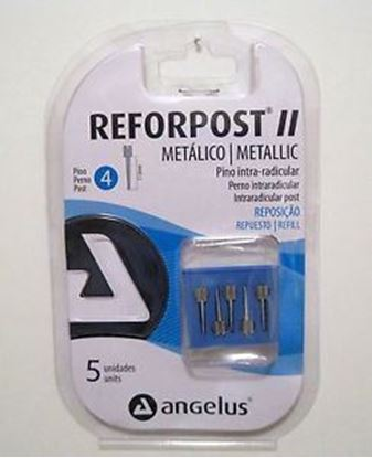 Picture of Angelus Reforpost Steel Refill - Size 1 (10 Units) without slit