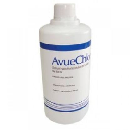 Picture of AVUECHLOR 500 ML (SODIUM HYPOCHLORIDE 5%)