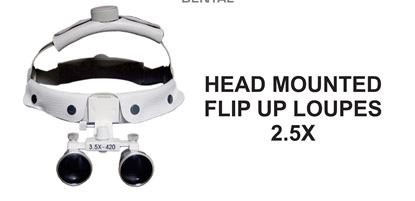 Picture of Head Mounted Flip Up Loupes 2.5X