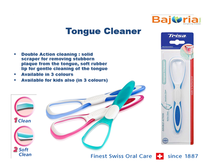Picture of Tongue Cleaner Double Action - Kids