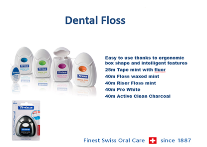 Picture of Dental Floss - Dental Floss Easy Waxed Mint 40M