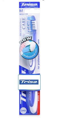Picture of Trisa ToothBrush - Professional Care Medium (with Cap)
