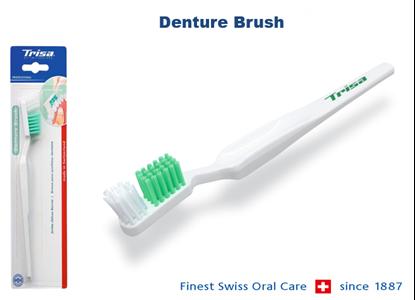 Picture of Trisa ToothBrush - Denture Brush *New
