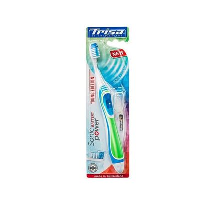 Picture of Trisa ToothBrush -  Sonicpower Replacement Young Edition Exp.