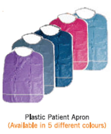 Picture of Plastic Patient Apron
