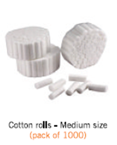Picture of cotton rolls