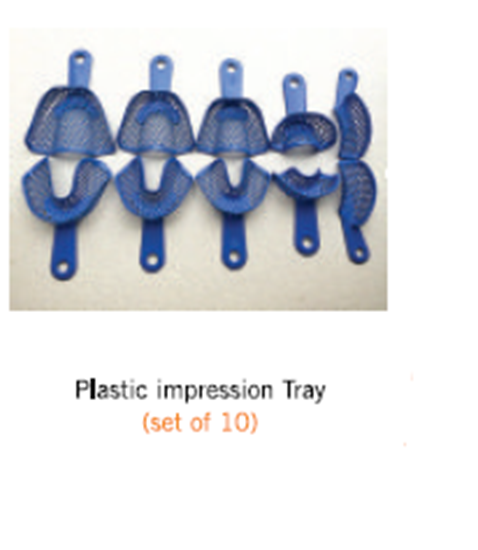 Picture of Plastic impression tray