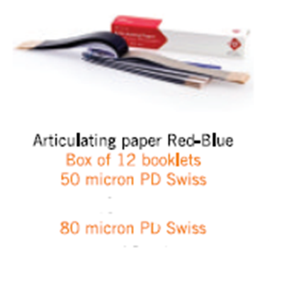 Picture of Articulating paper Red-Blue