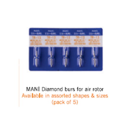 Picture of Mani Diamond Burs for airotor