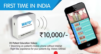 Picture of Waito - Live Streaming device for patient education videos