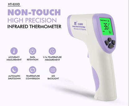 Picture of HT820D Non Touch High Precision Intra Red Thermometer