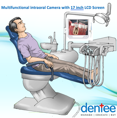 Intraoral Camera with LCD Screen