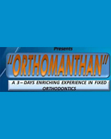 """'ORTHOMANTHAN' IS THE FIRST ONLY 3 DAYS COMPREHENSIVE COURSE OF ITS KIND"