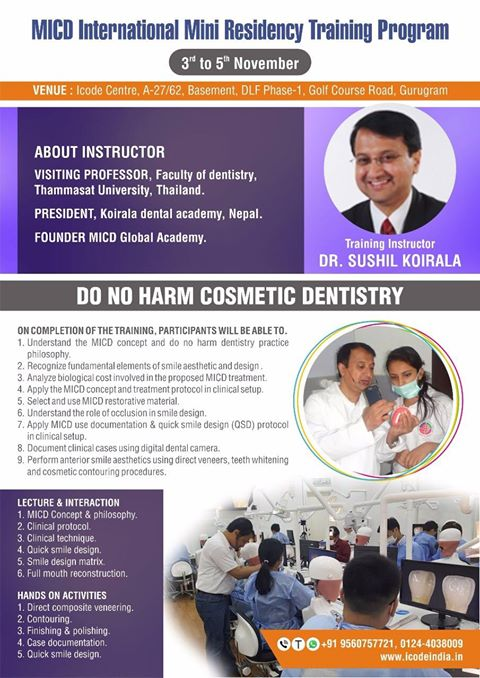MIDC International Mini Residency Training Program