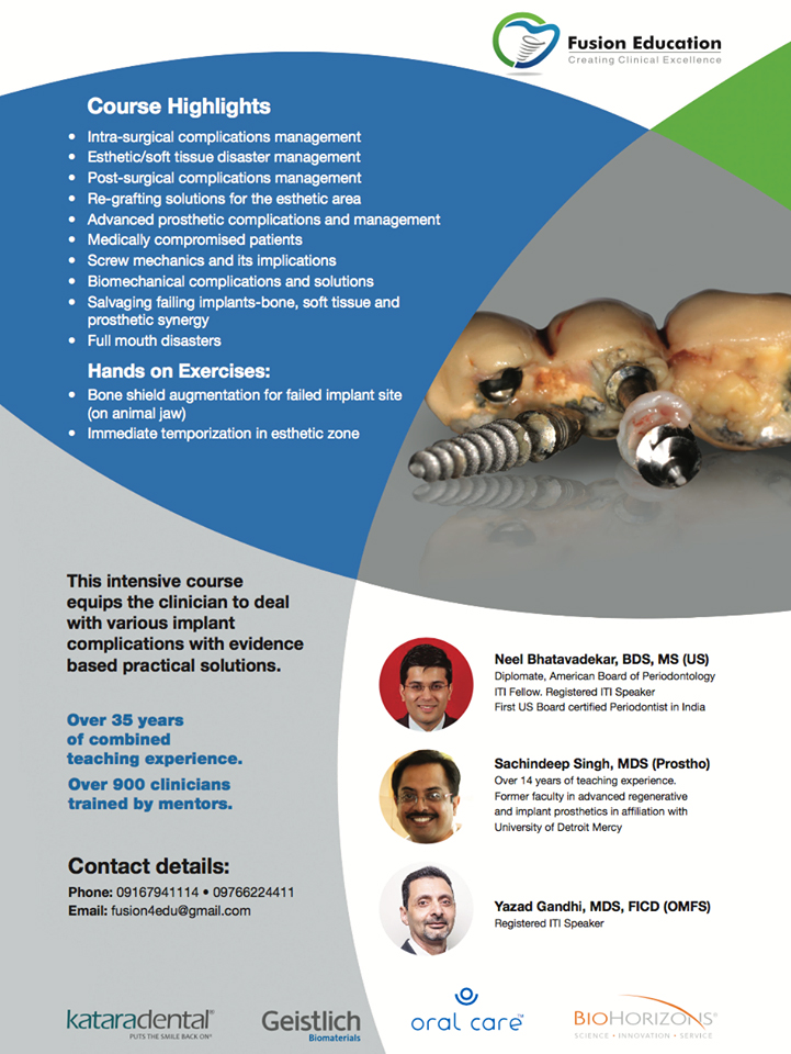 Current Trends in Managemnent of Implant Complications