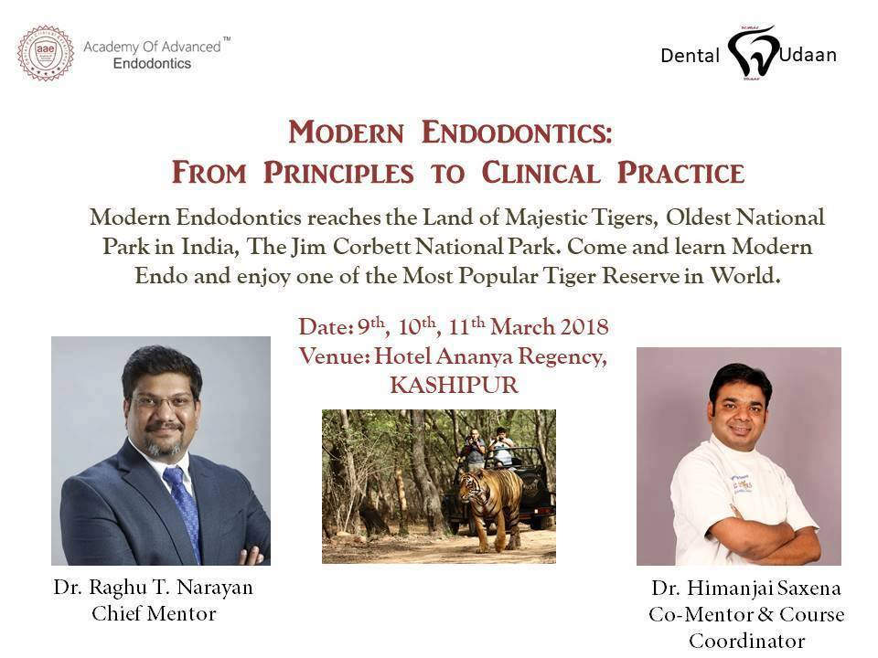 Modern Endodontics : From Principles to clinical practice