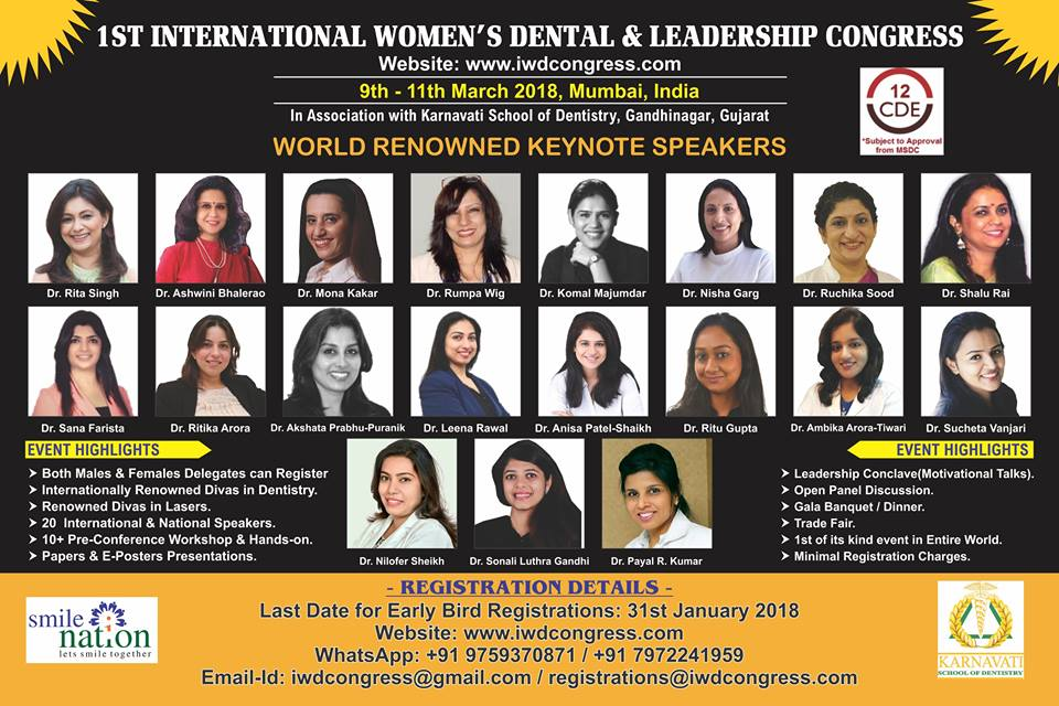 1ST International women's dental and leadership congress