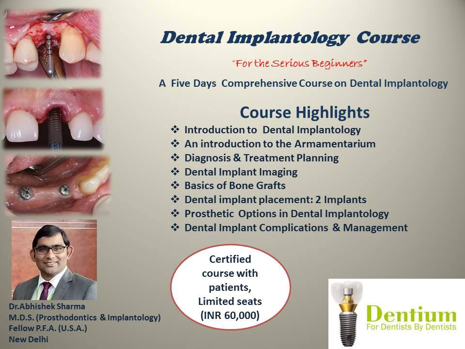 Dental Implantology Course