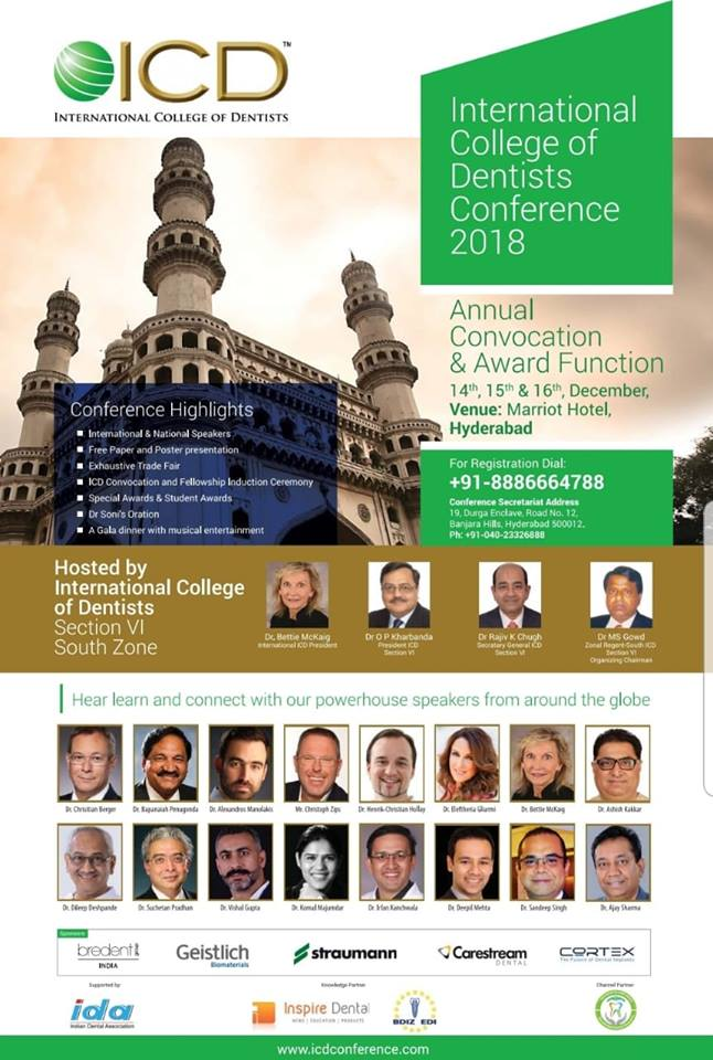 International College of Dentists Conference 2018
