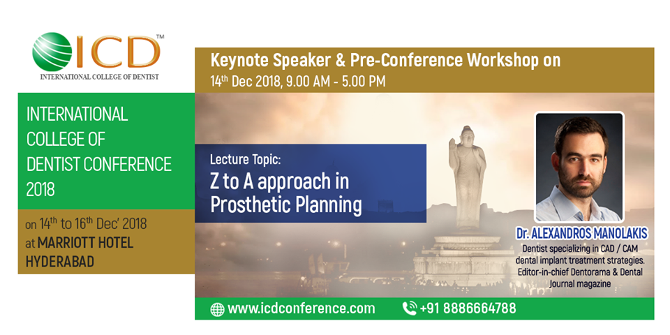 International College of Dentist Conference 2018