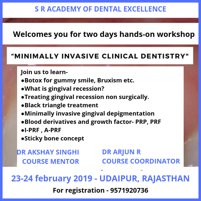 MINIMALLY INVASIVE CLINICAL DENTISTRY
