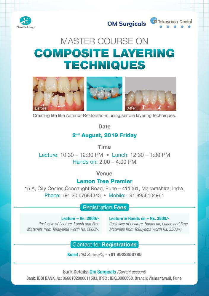 Master Course On Composite Layering Techniques