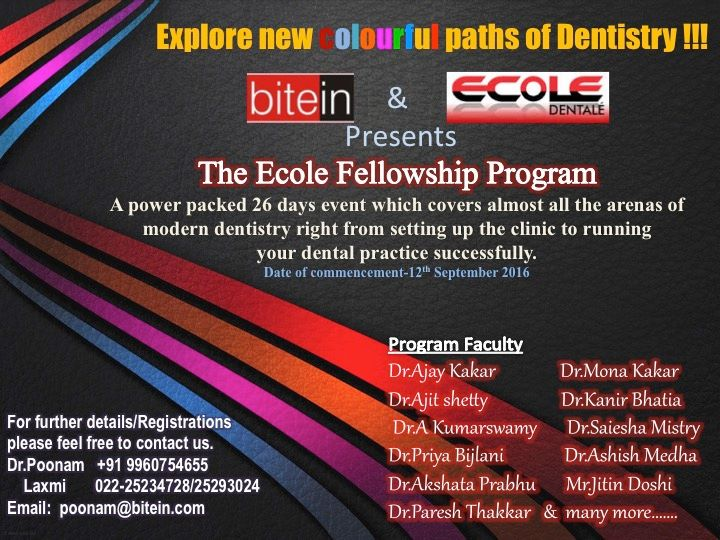 The Ecole Fellowship Program