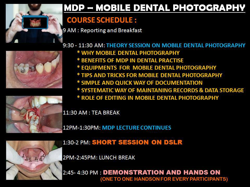 Mobile Dental Photography