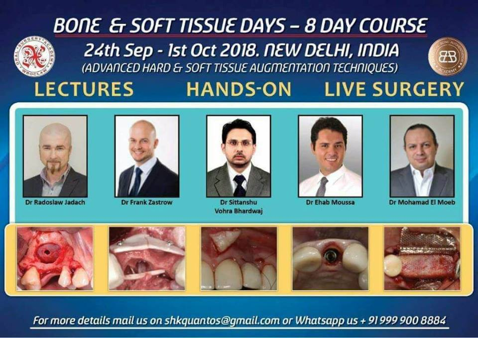 Bone and Soft Tissue Days - 8 Day Course