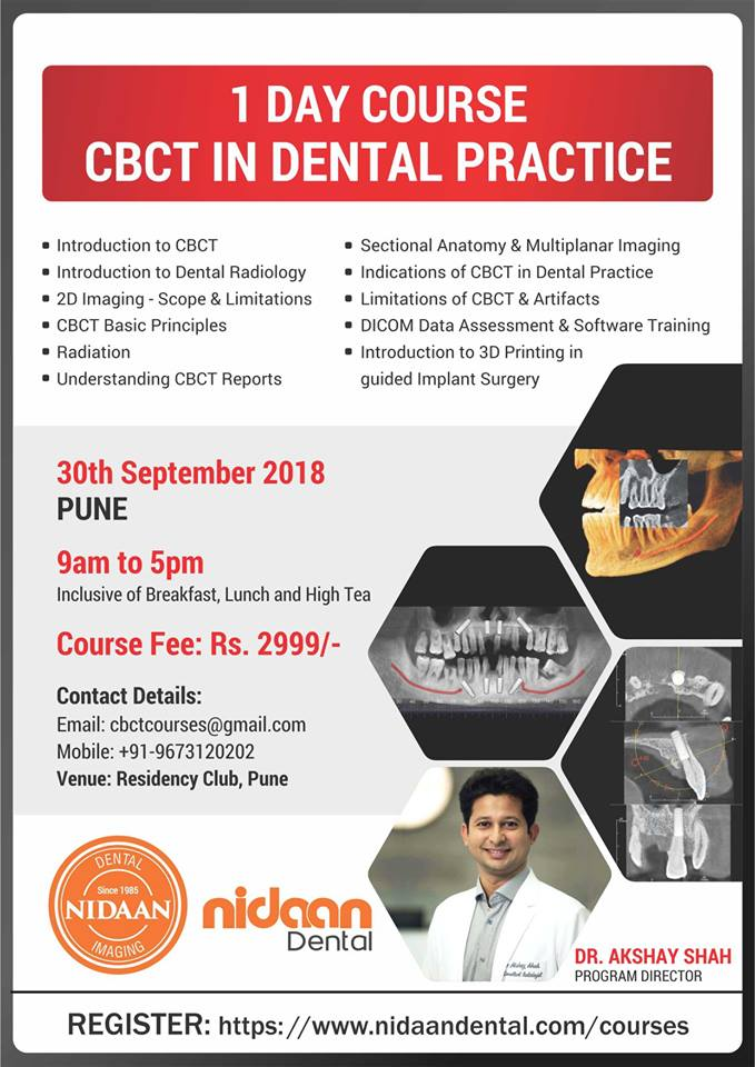 1 Day course - CBCT in dental practice