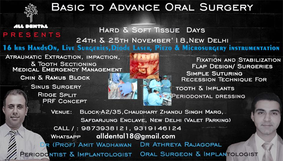 Basic to Advance Oral Surgery