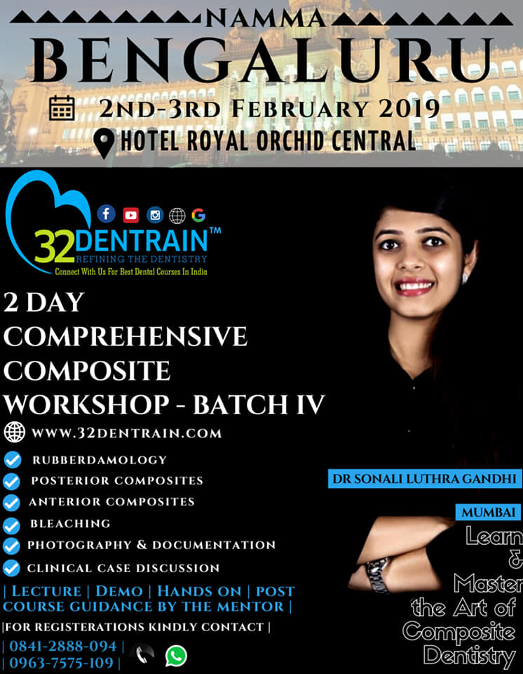 2 Days Comprehensive Composite Workshop - Batch IV