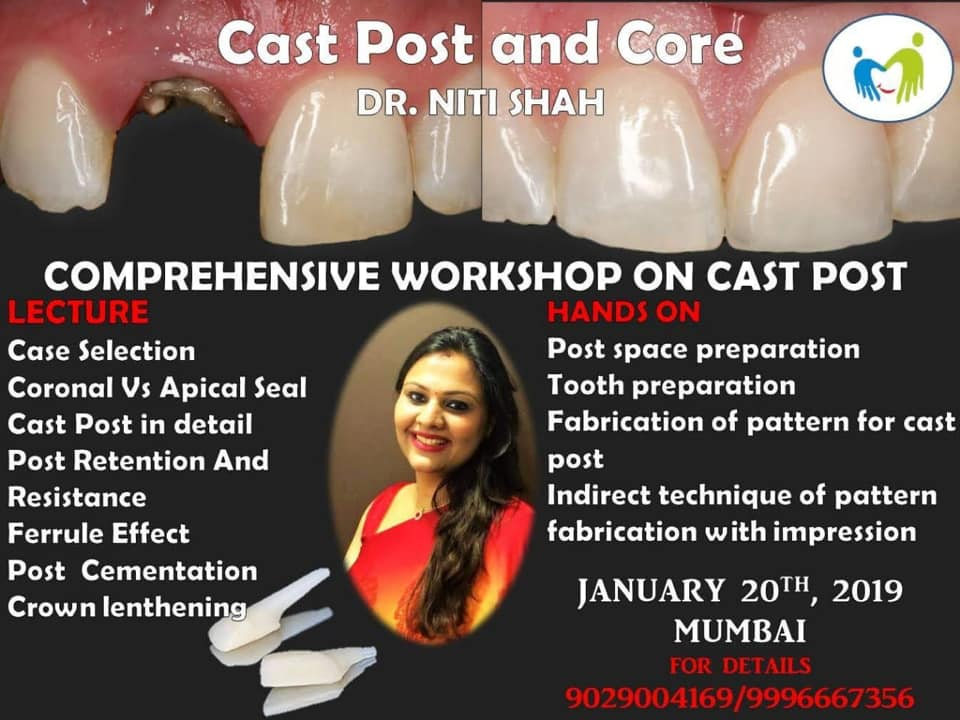 Comprehensive Workshop On Cast Post