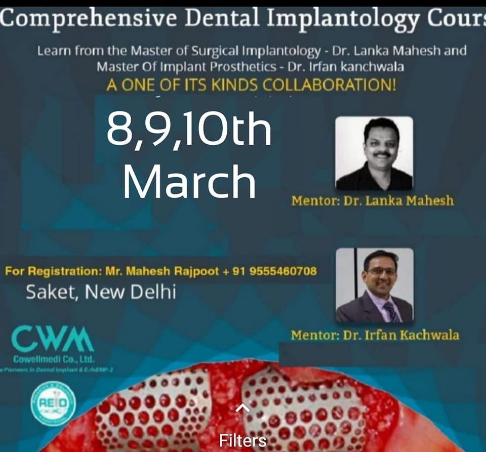 Comprehensive Dental Implantology Course