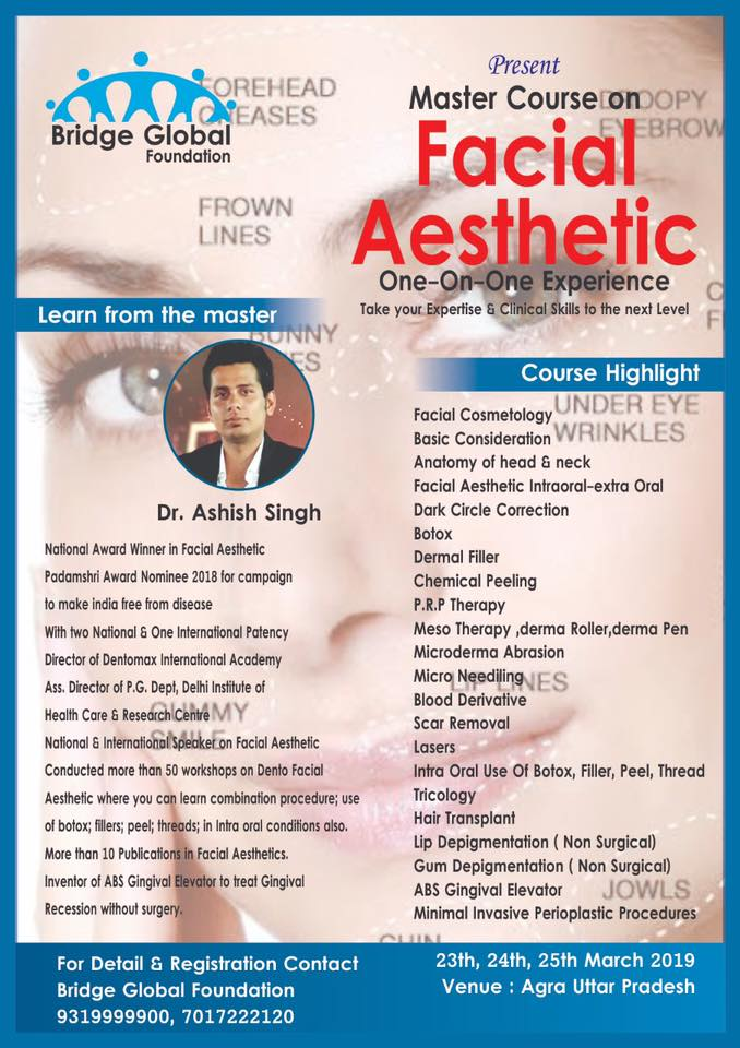 Master Class in Facial Aesthetic