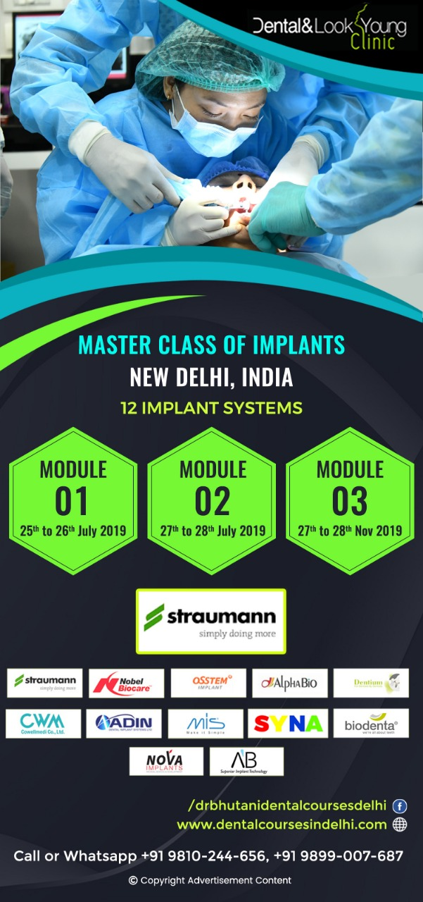 Master Class Of Implants - 12 Implant Systems