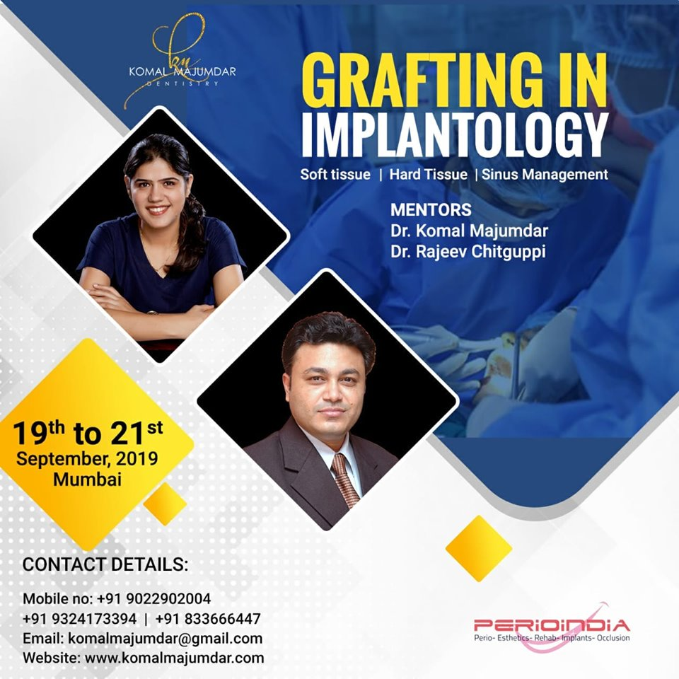 GRAFTING IN IMPLANTOLOGY
