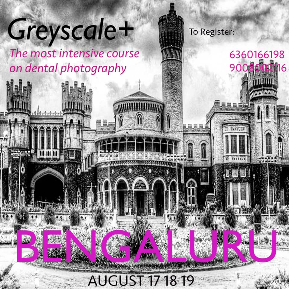 GREYSCALE+ - The Most Intensive Course On Dental Photography